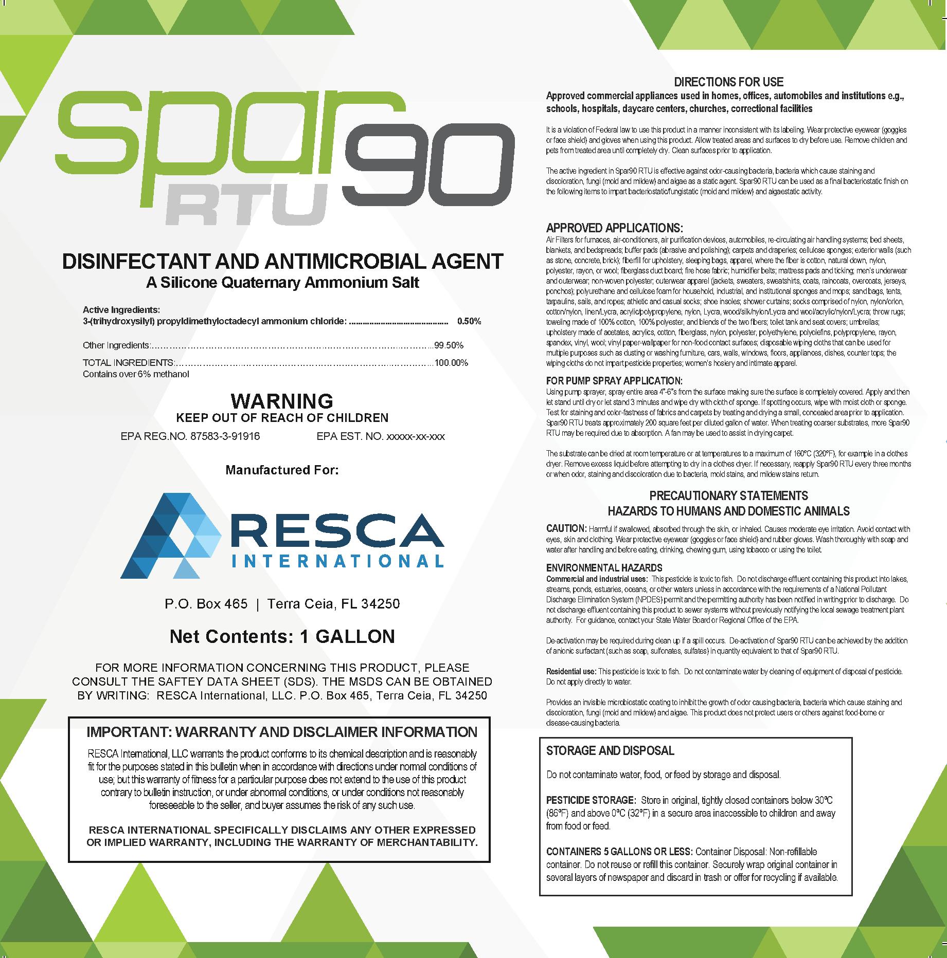 Spar90 Ready-to-Use