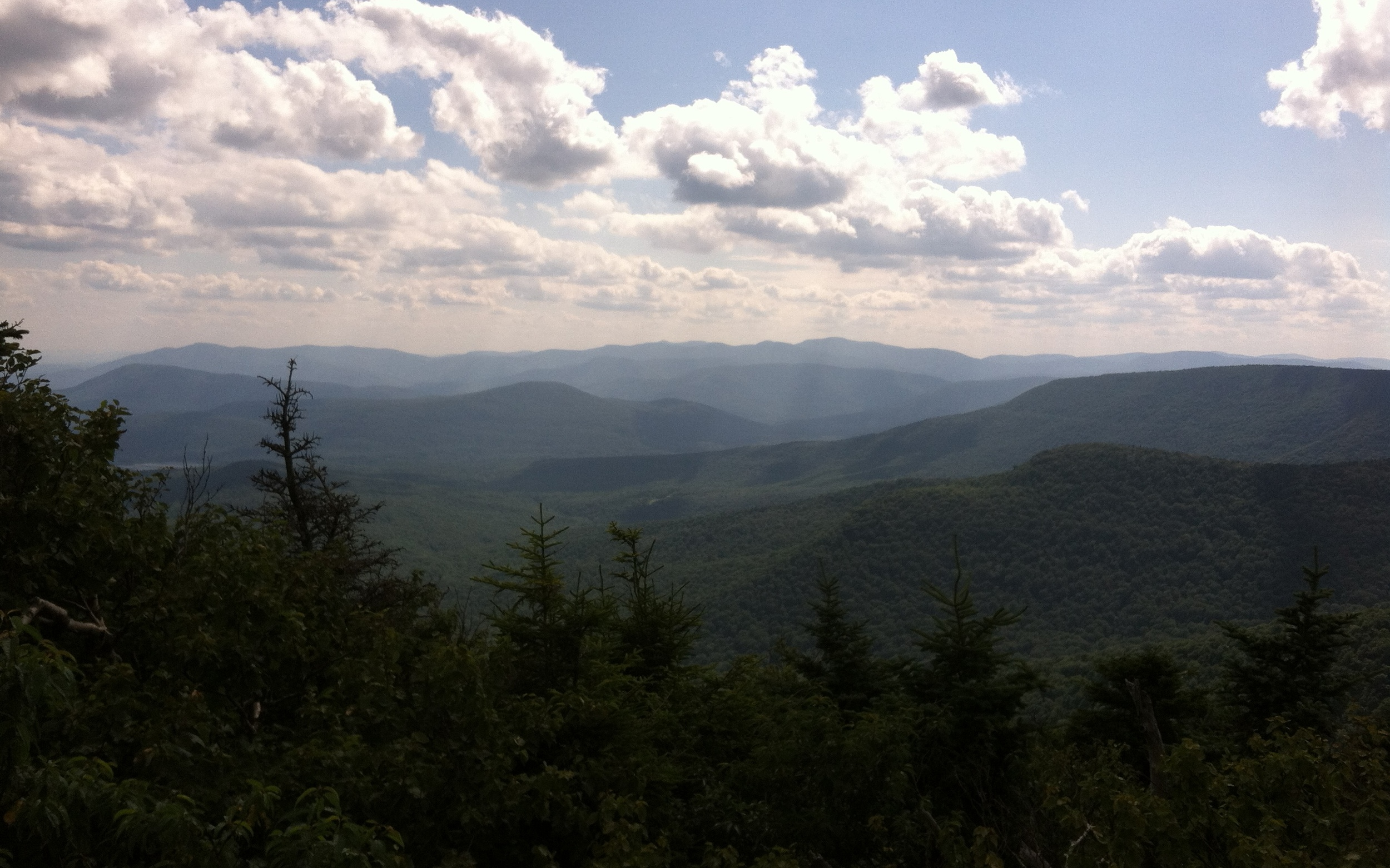 View from the Catskill Mountains