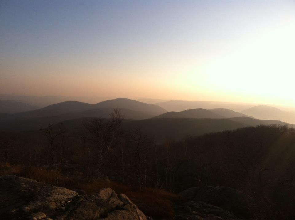 Sunset view - Beacon Fire Tower