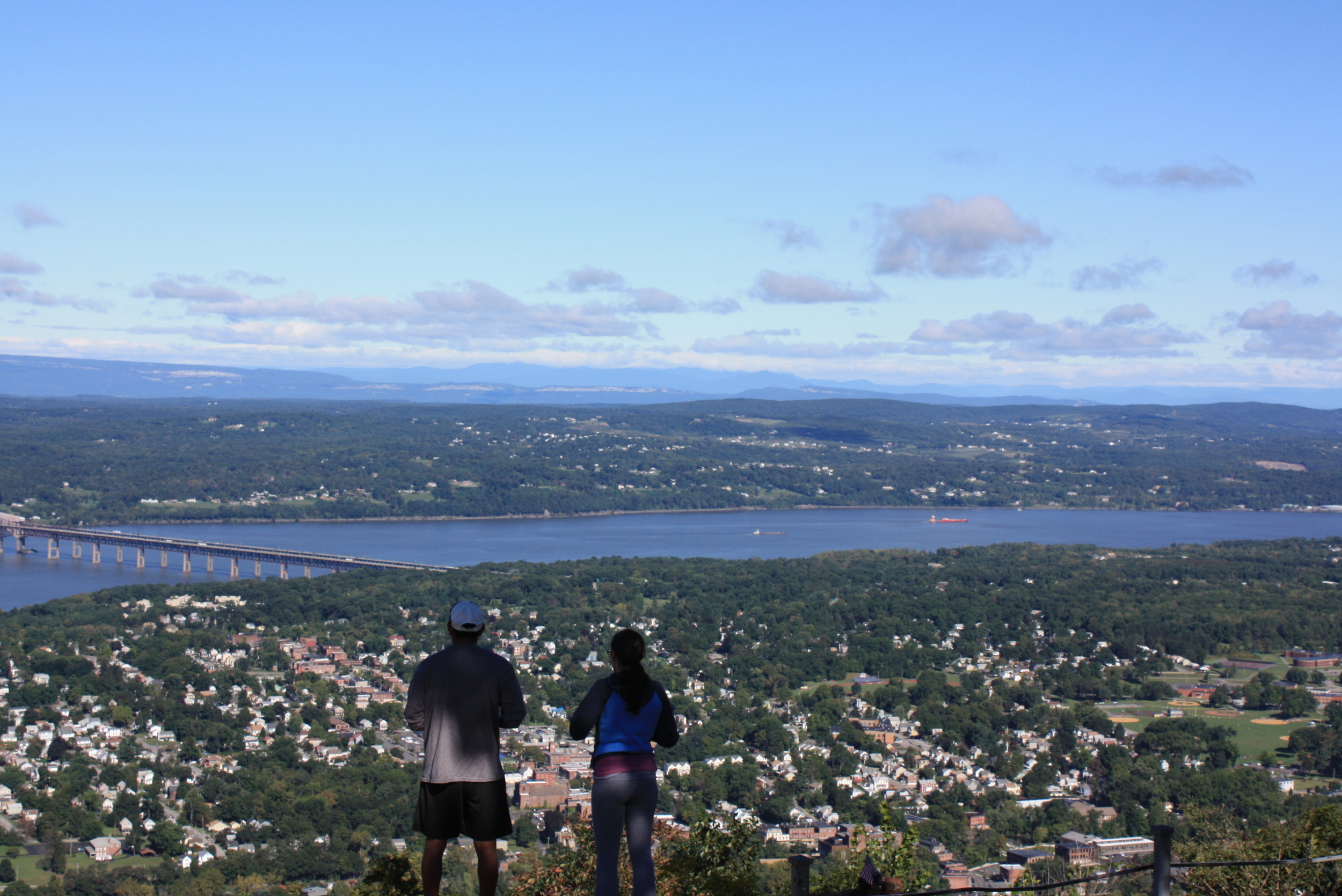 Mt. Beacon Casino Site View - Hike NY
