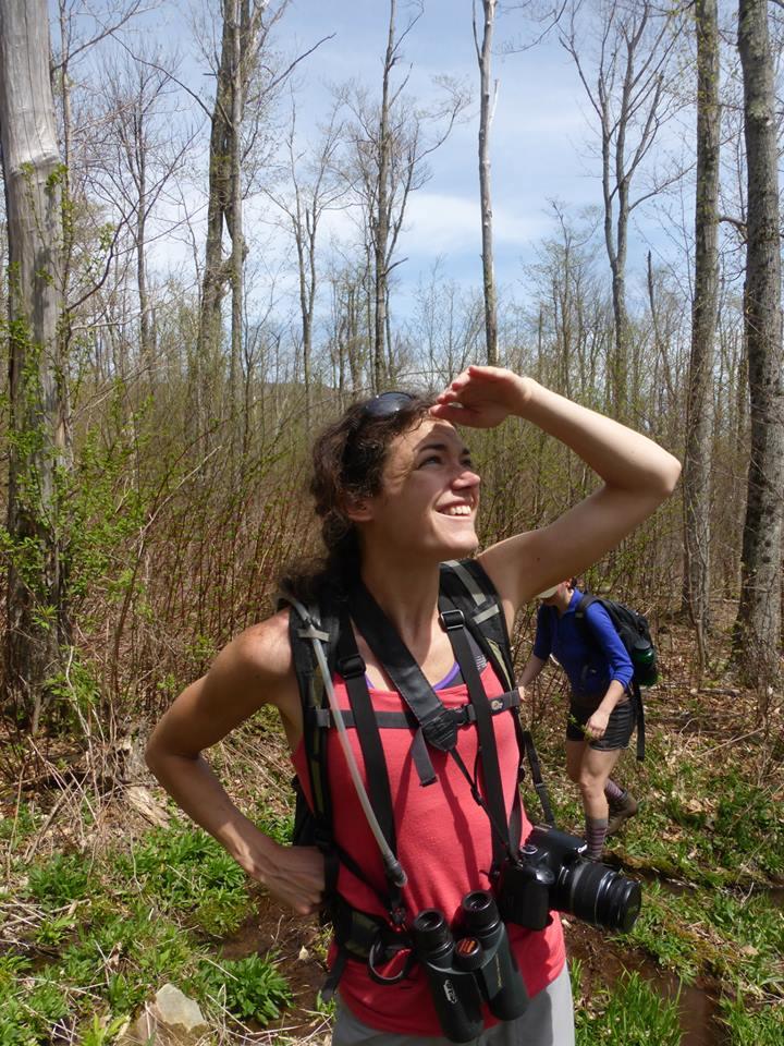 Kali Bird birding in the Catskills