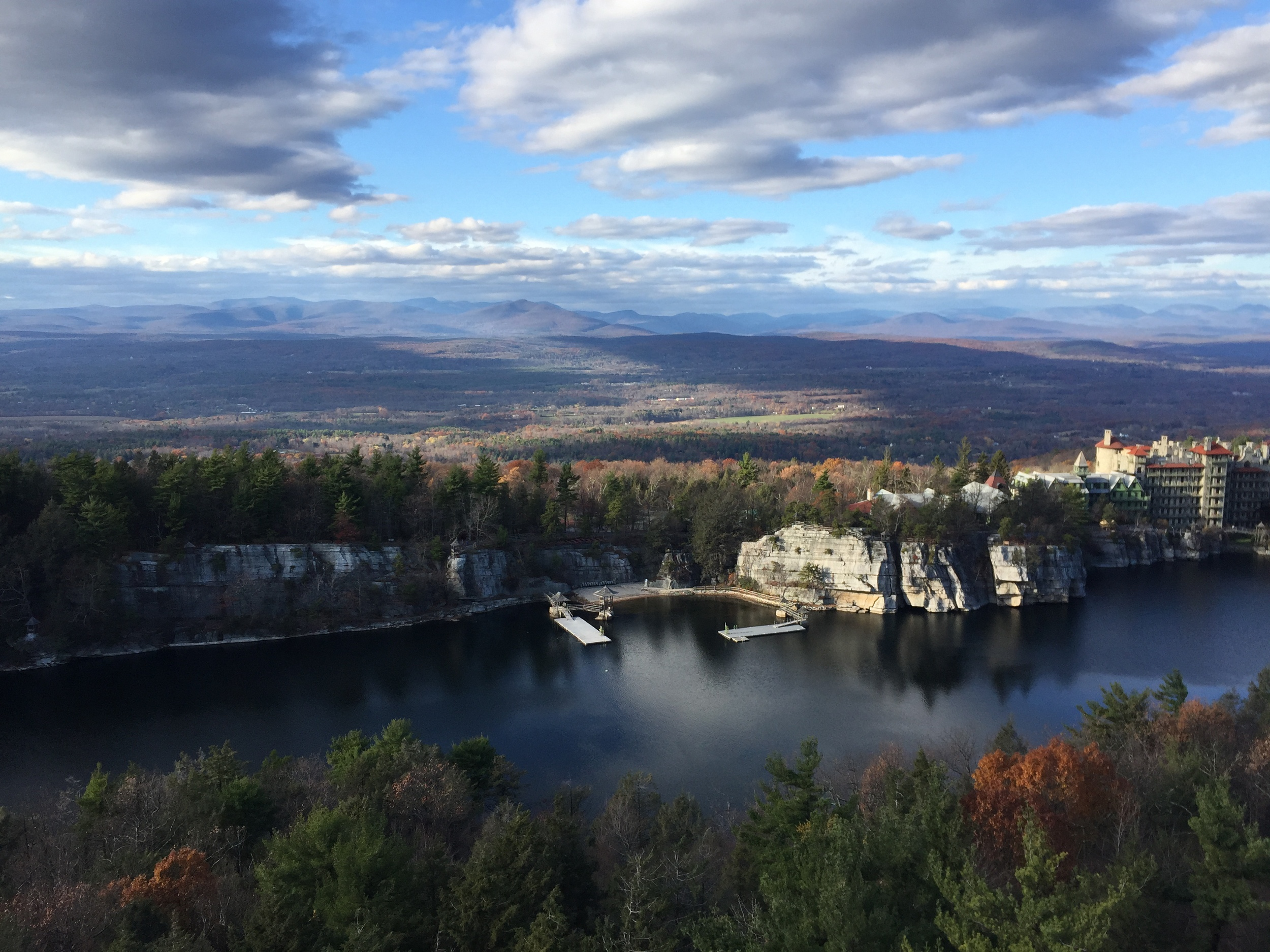 Catskills View from Mohonk / Shawangunk Ridge