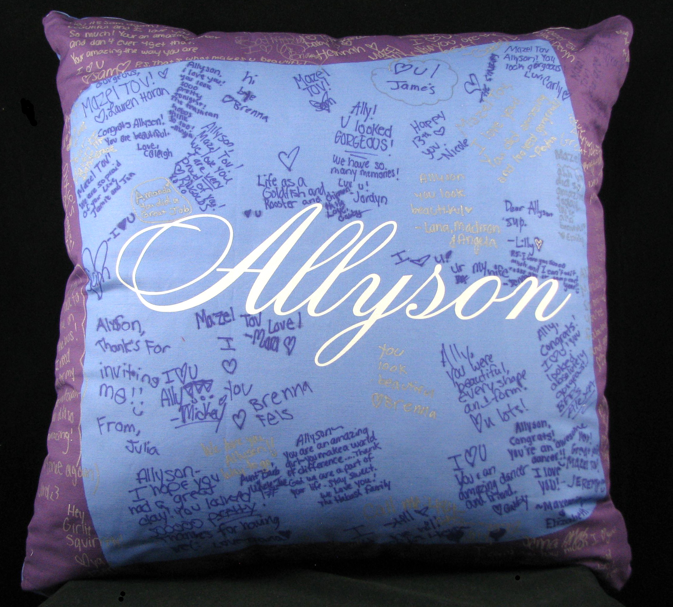 "ALLYSON'S WAVY (27"") PILLOW"
