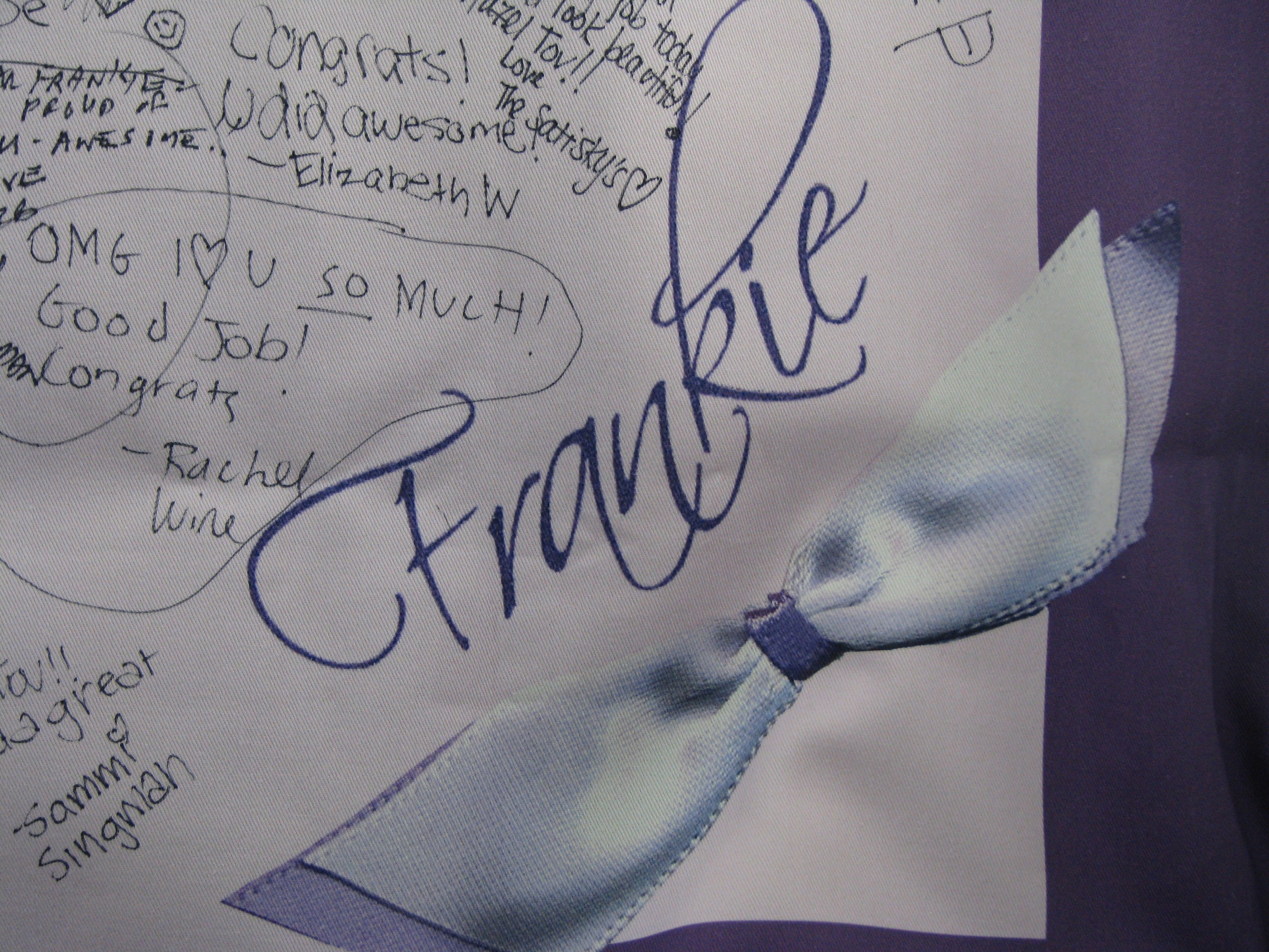 """FRANKIE'S BOW (36"""") FLOOR PILLOW"""
