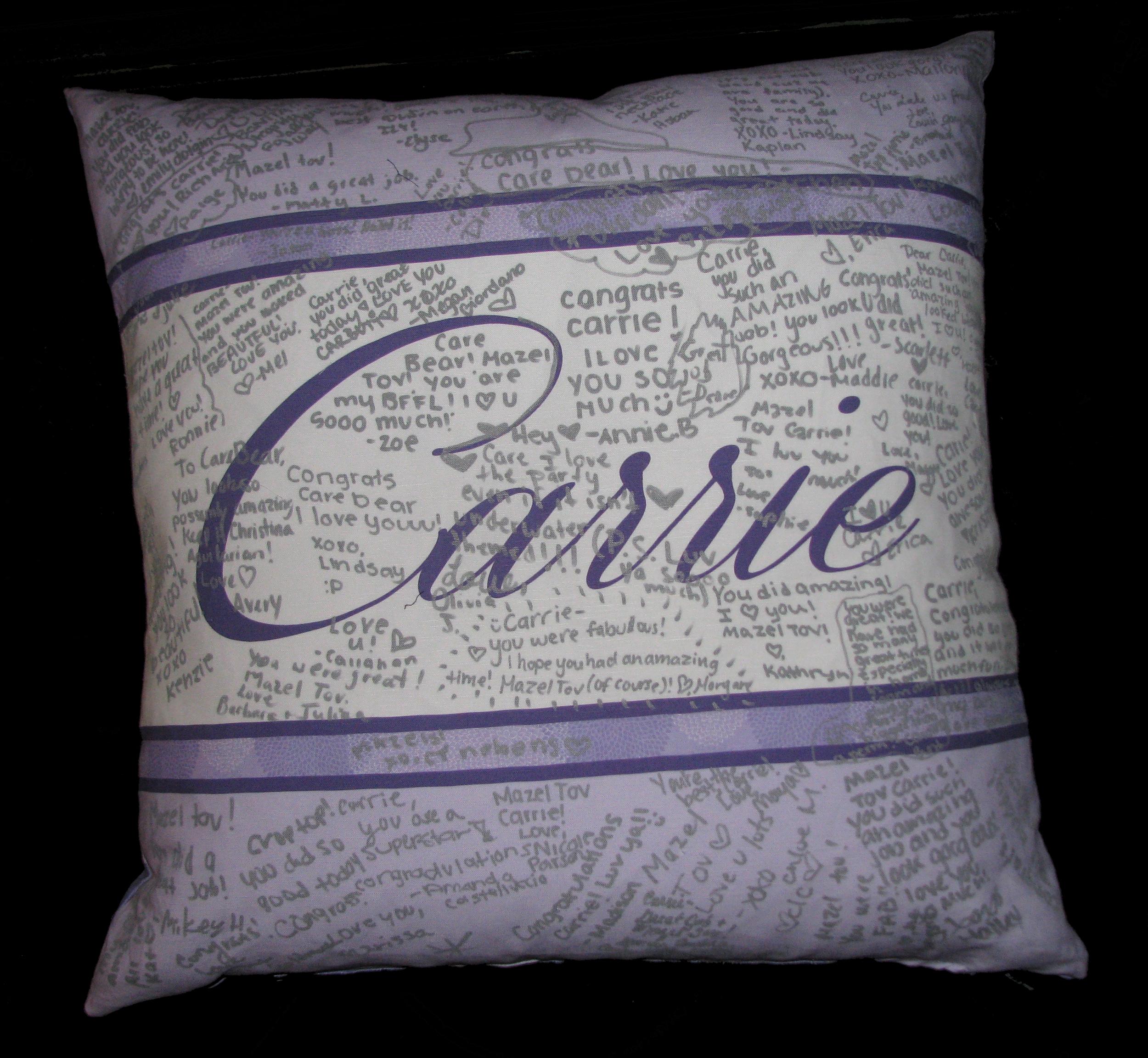 """CARRIE'S ZINNIA (24"""") PILLOW"""