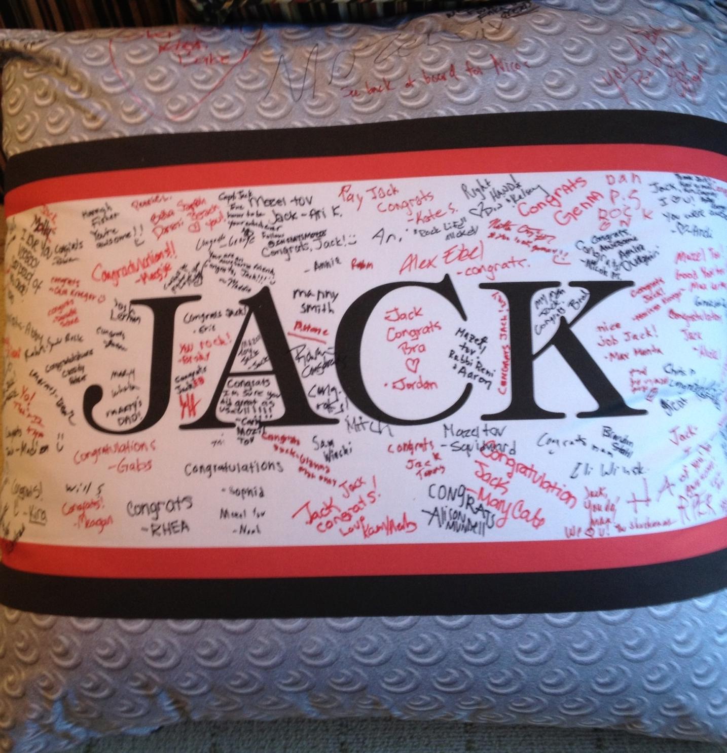 """JACK'S SPIRAL (36"""") FLOOR PILLOW"""