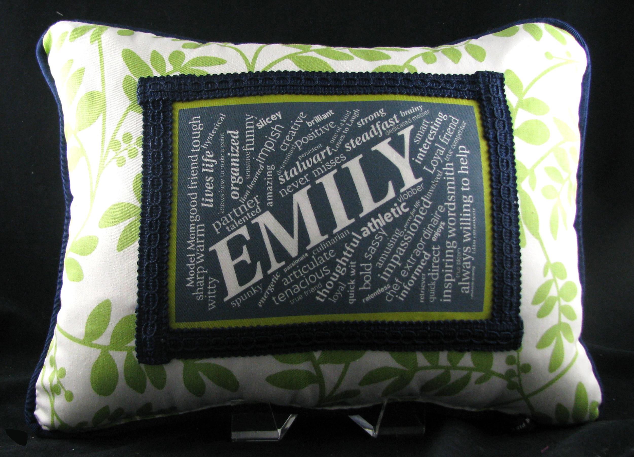 50th Birthday Pillow