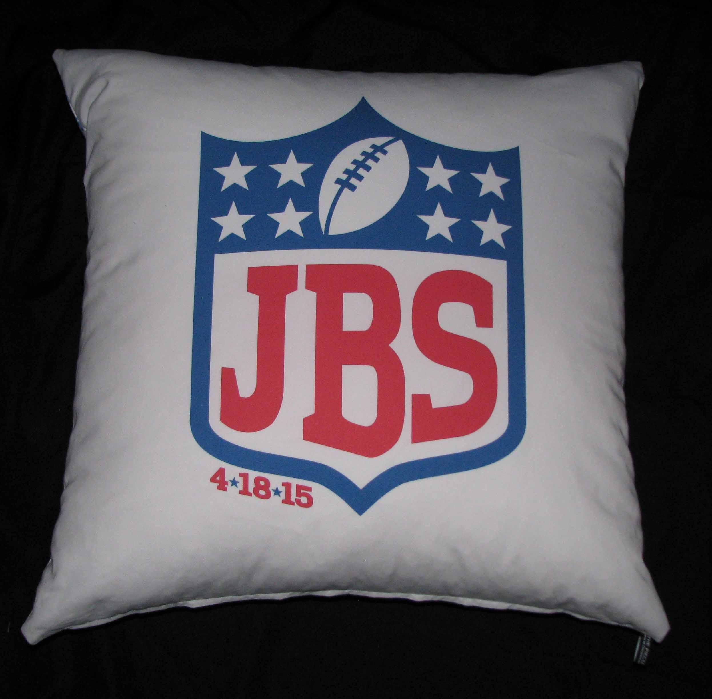 JAKE'S NFL PILLOW