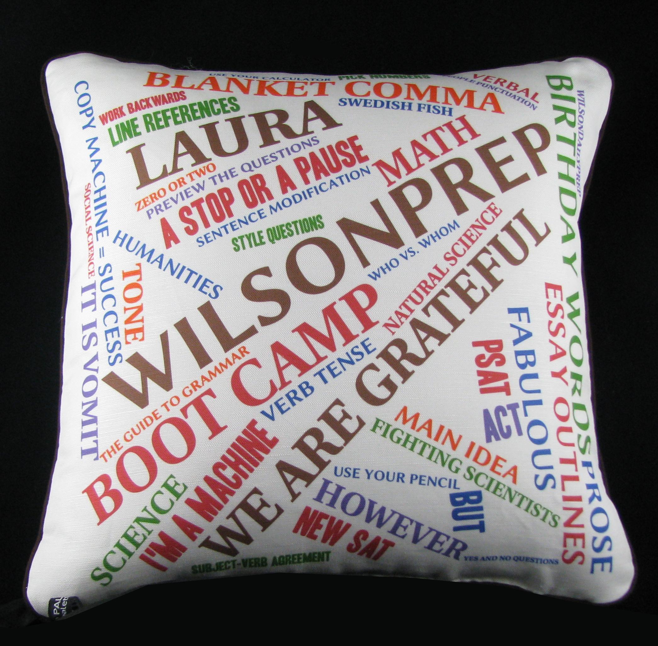 Thank You Pillow