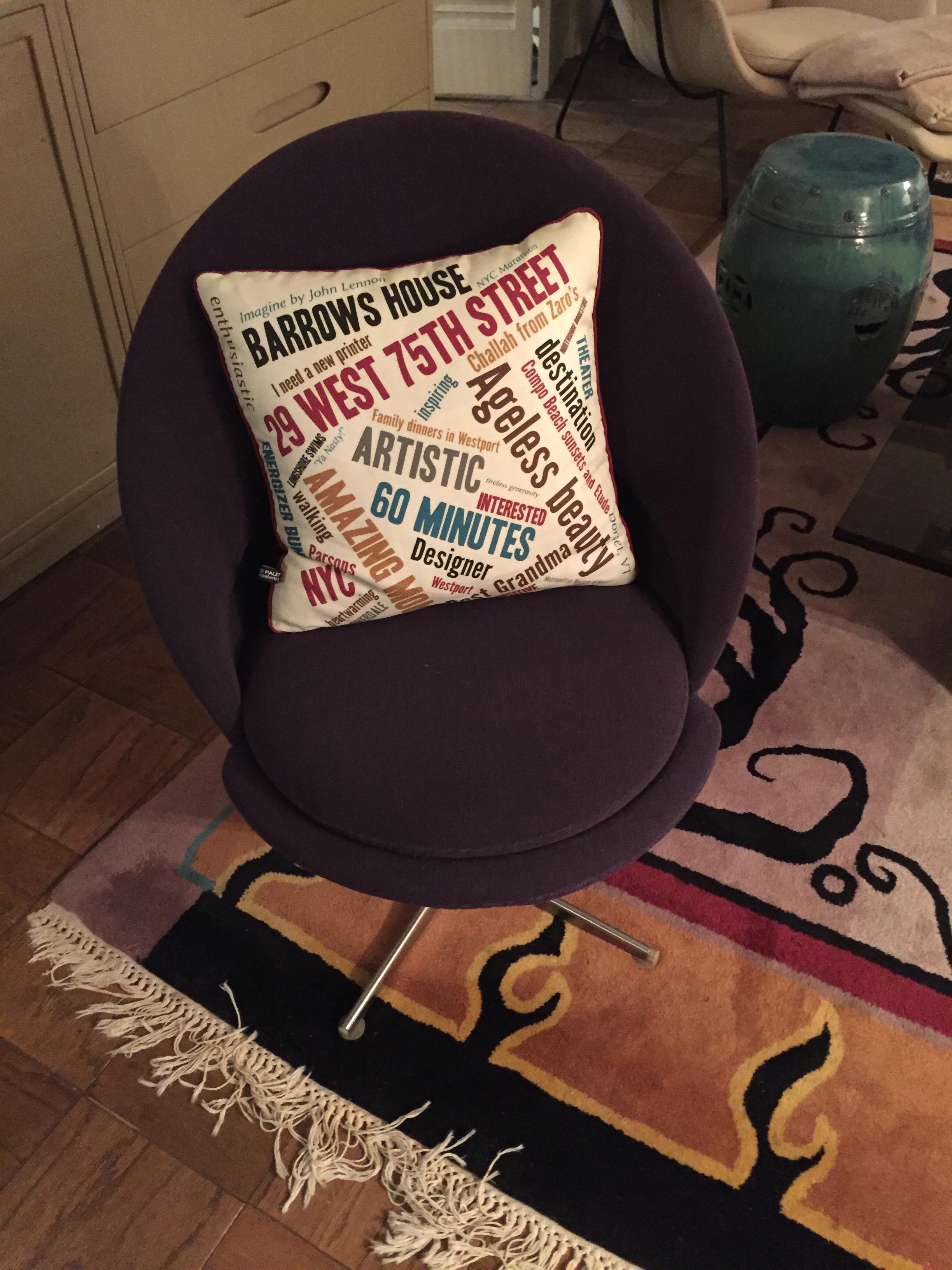 80th Birthday Pillow