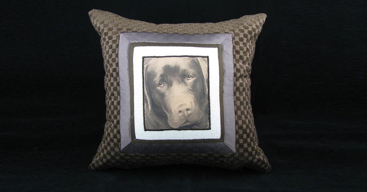 Dog Photo Pillow