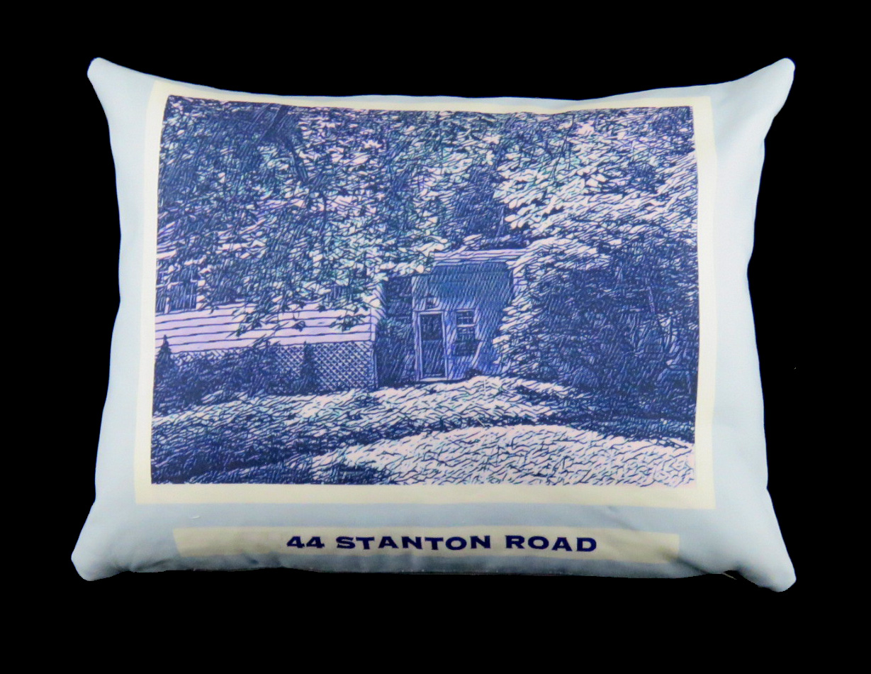 PEN AND INK SKETCH PILLOW - THICK STYLE (WITH TINT UPGRADE