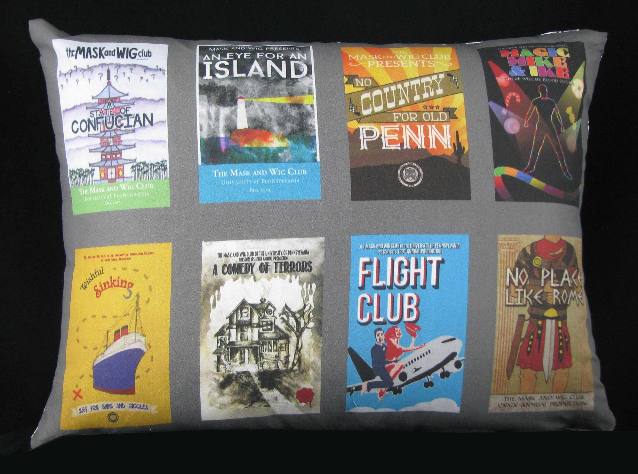Program covers from college theatrical career, one show per semester!