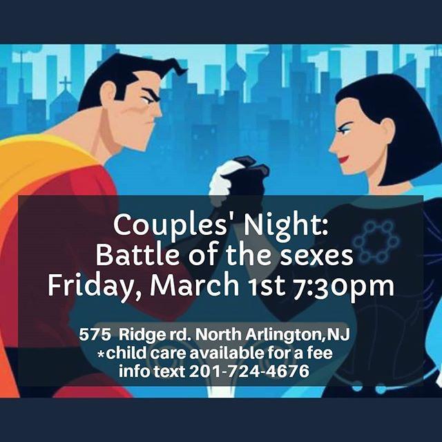 Couples See you friday/ y en español nos vemos el sabado 9 de marzo