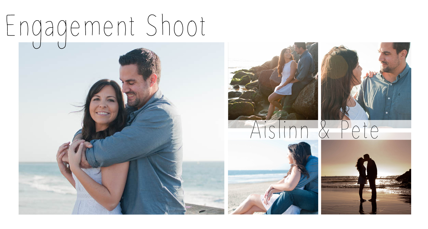 When people think Venice Beach, they tend to think of street vendors, performers on the sidewalk, and graffiti. But just a little south near Venice Beach Boardwalk, there's a gorgeous, far less-crowded beach perfect for photos. Aislinn and Pete were such a fun couple and with their playful attitude really made for a great session.