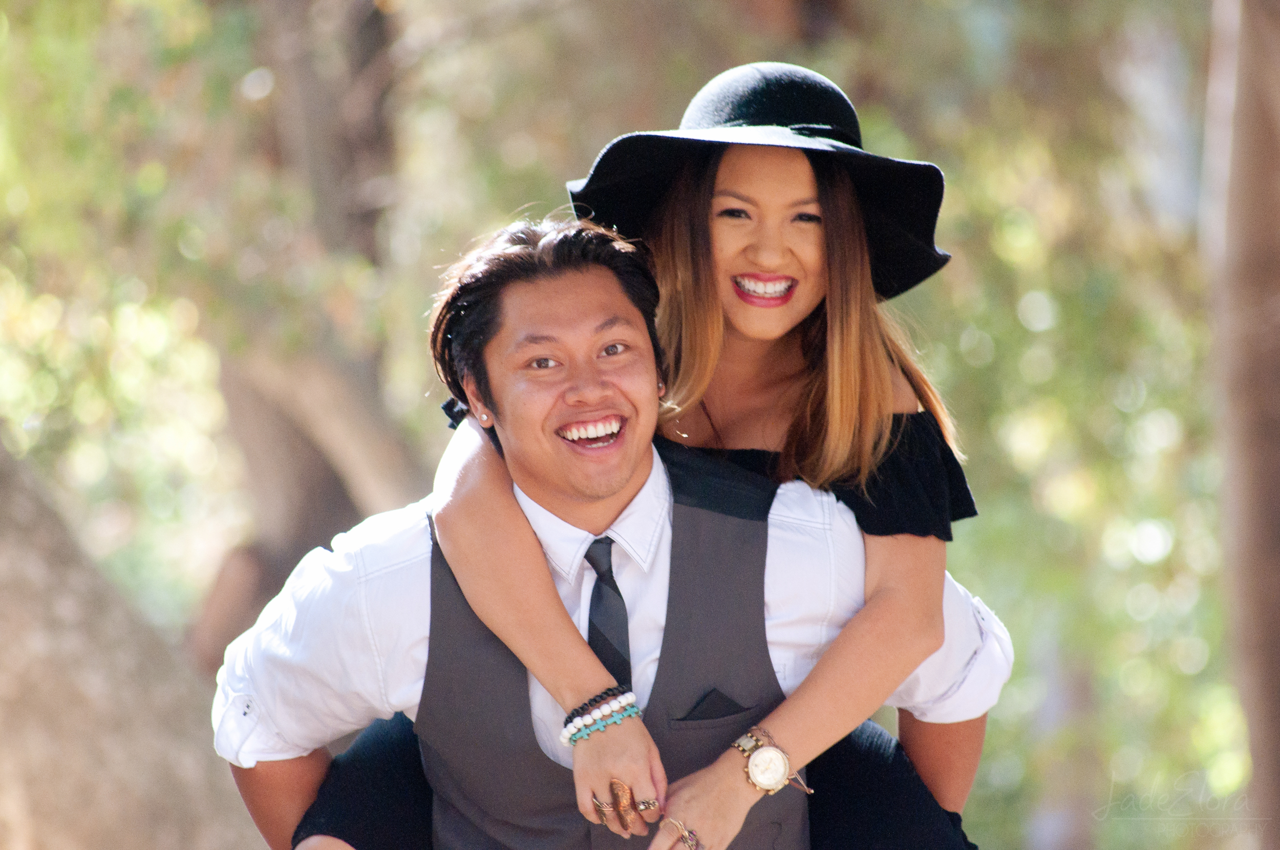 Dapper Fun Couple Photograph