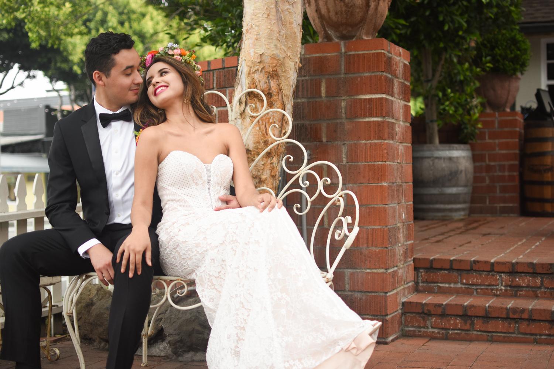 Models: Saul Rodas and  Joanka Moon