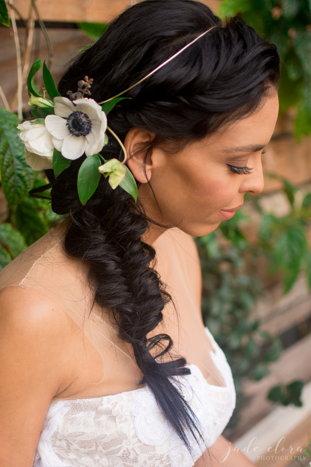 Hair + Makeup by Page Beauty, Florals by Barnes Botanicals