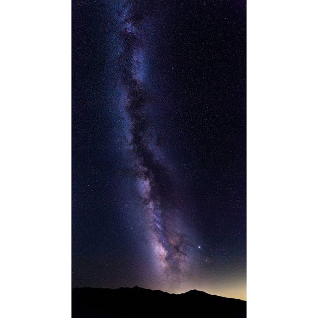 Everytime I see the Milky-way I want to take a panoramic image of it. Here is my third and my best Milky-way panoramic image (so far).