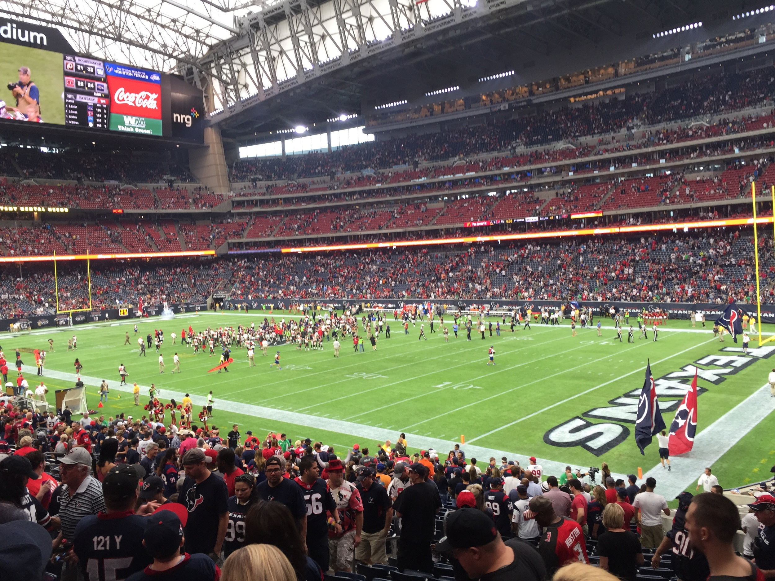 Texans WON their first game of the season 9-19.