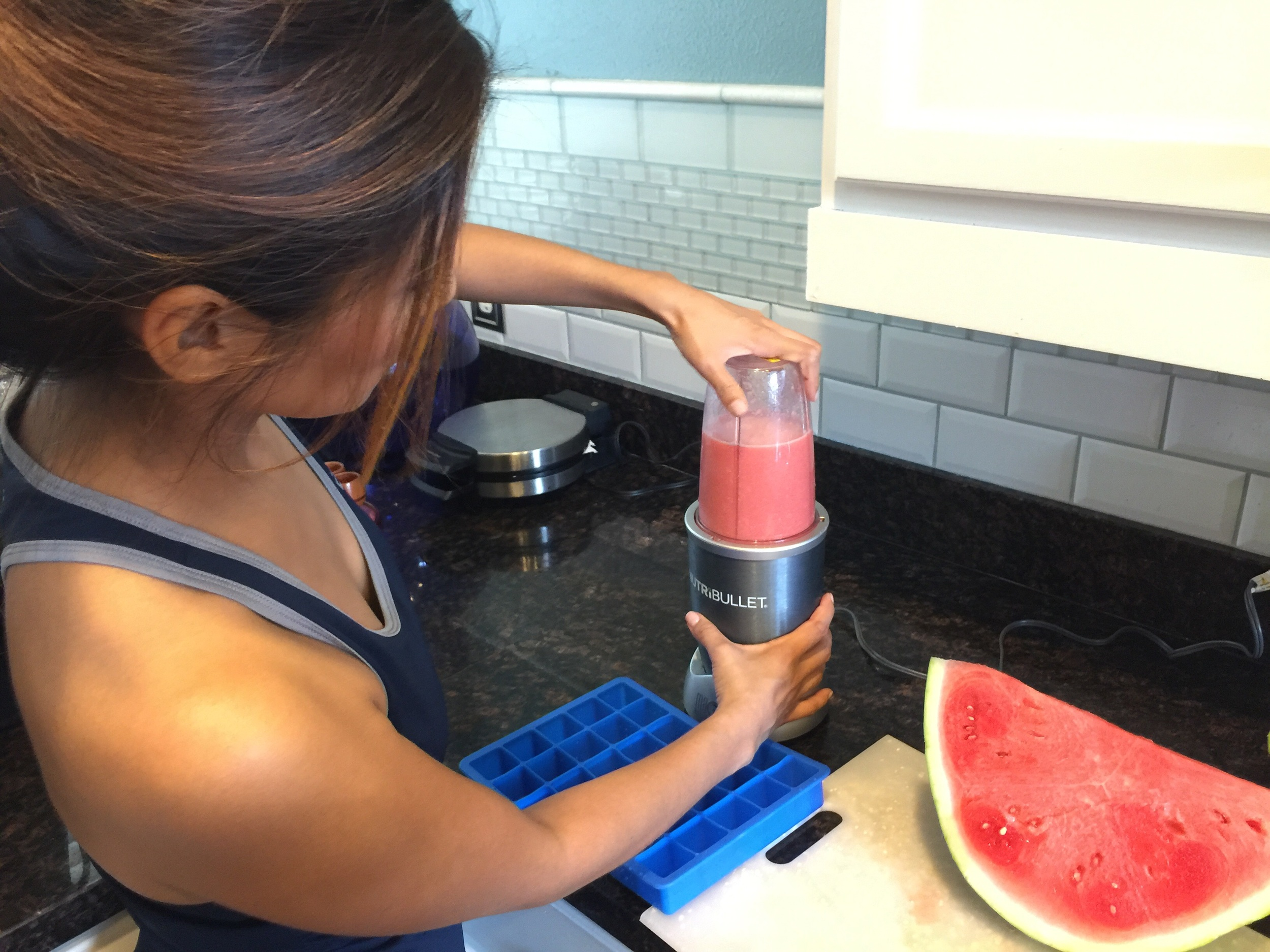 If you don't own the nutribullet, a blender will work too.