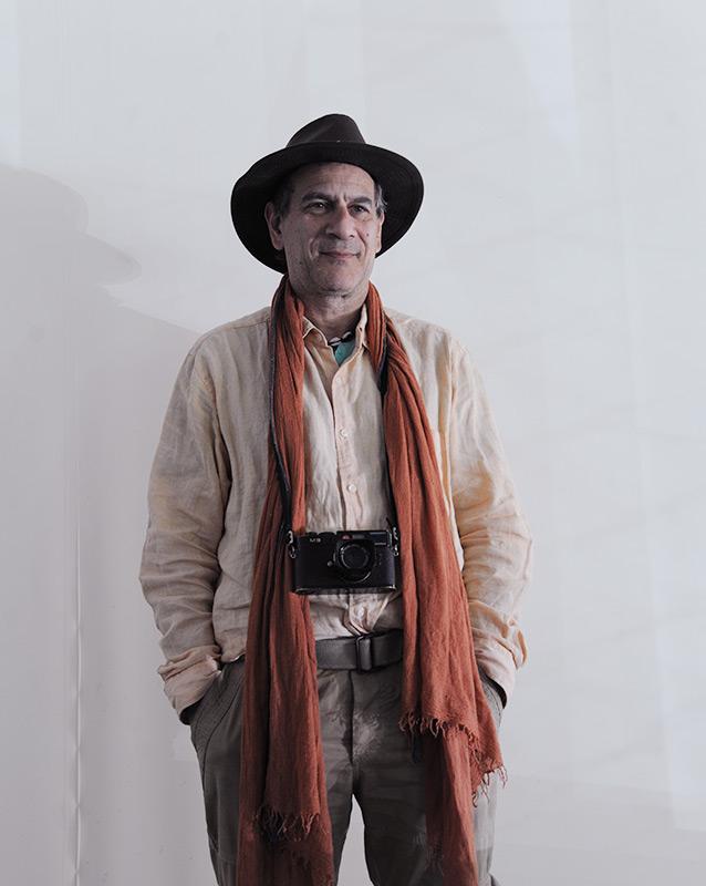 Patrick Zachmann a Sonogno,  foto Flavia Leuenberger