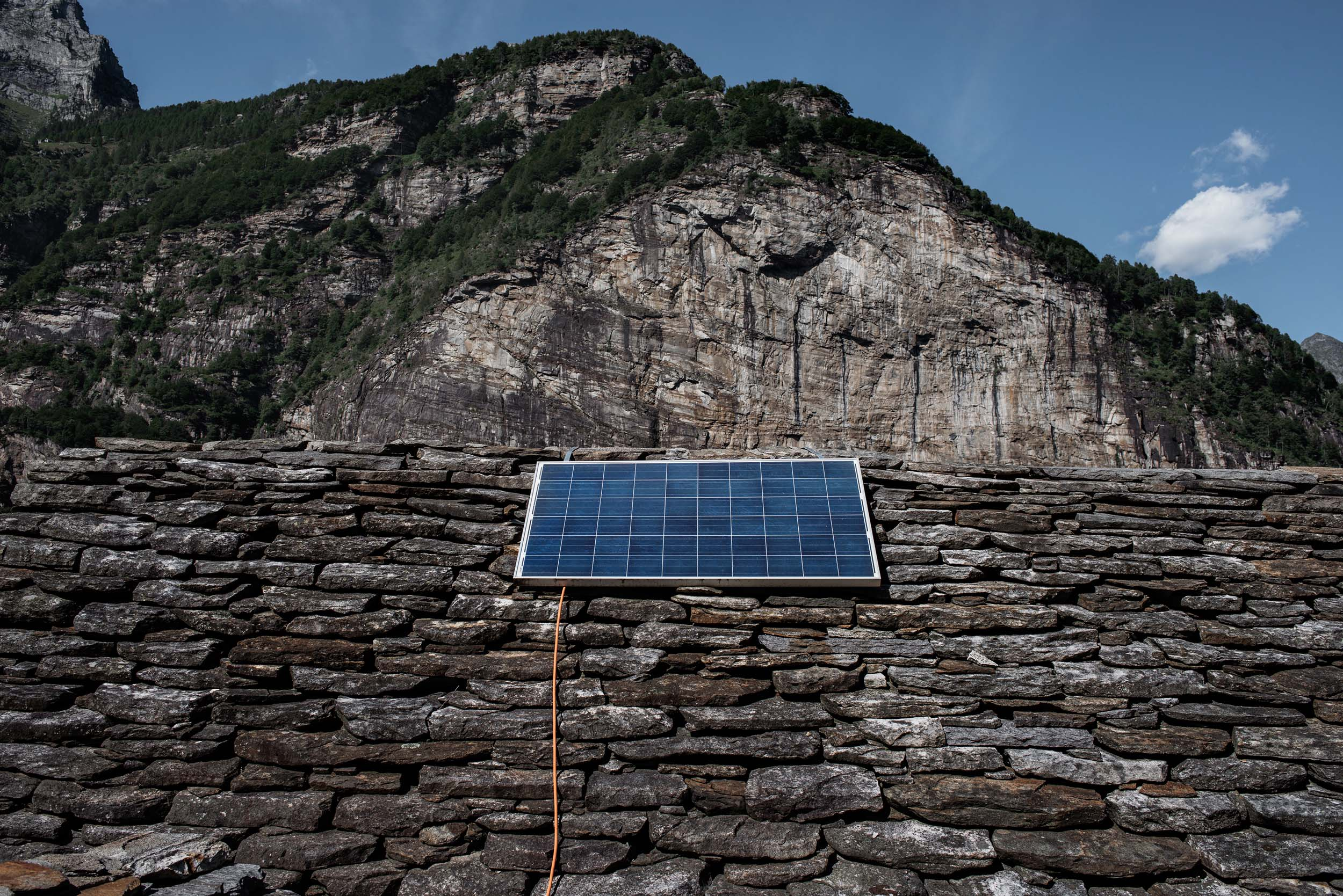 Photo Tiago Coelho - Artist in residence in the Verzasca Valley (2016)