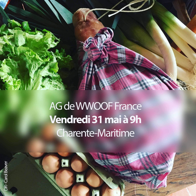Convocation réservée aux membres de l'association WWOOF France.
