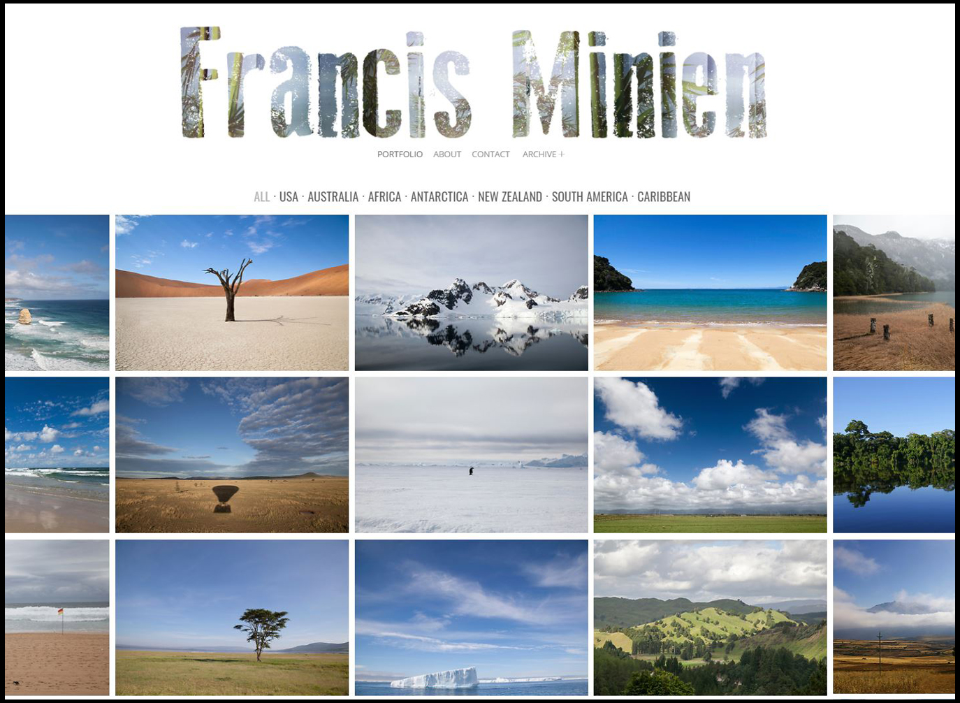 Its simple, great photography from great locations with amazing landscapes!  These galleries represent a top selection of my work and portfolio in the genre. Landscape photography is a side outlet from his commercial and personal projects   Check Out Francis Minien Stock website here...