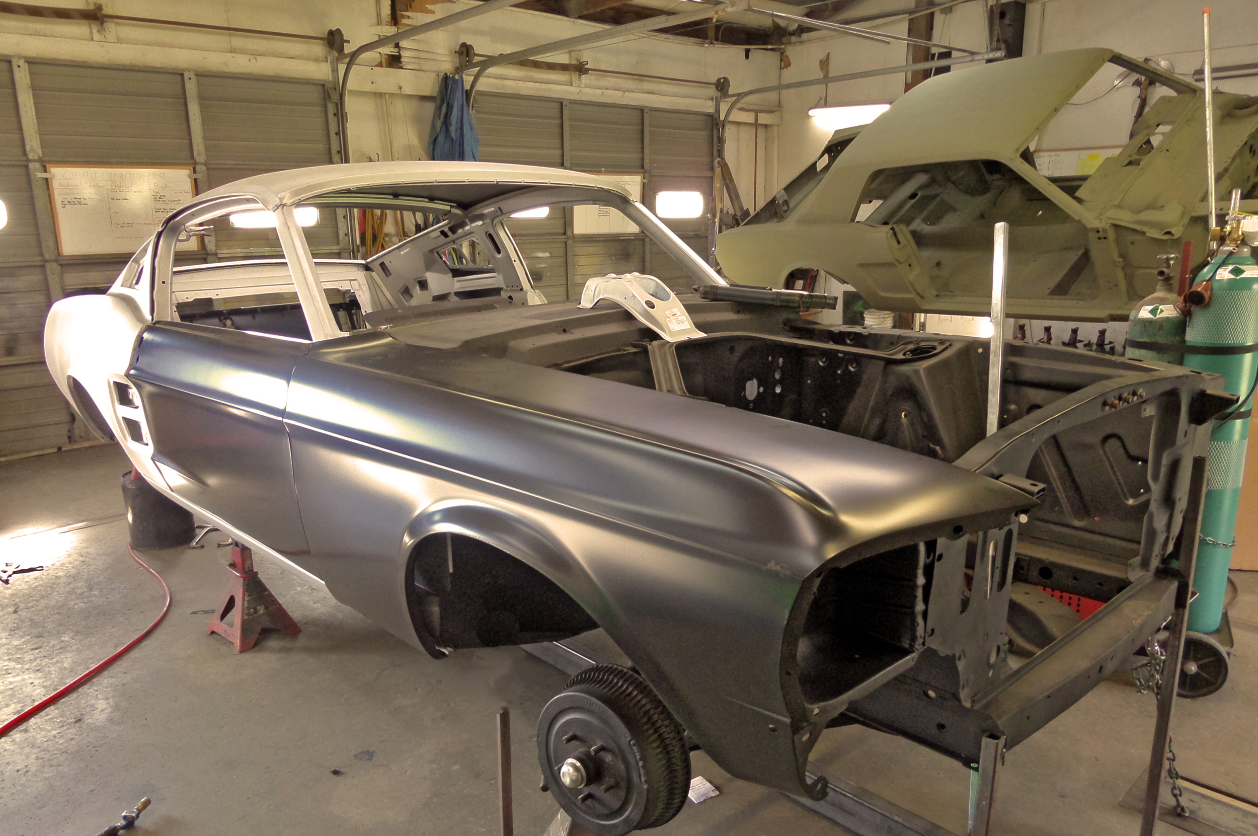 1967 Mustang Fastback Conversion