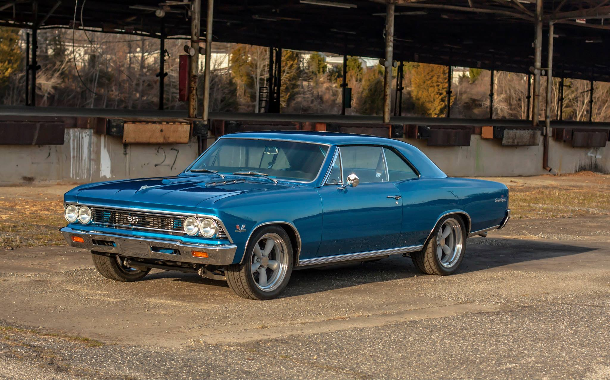 1966 Chevelle  - This car features a Full frame from Schwartz Performance, LS3, Coil overs and big brakes.