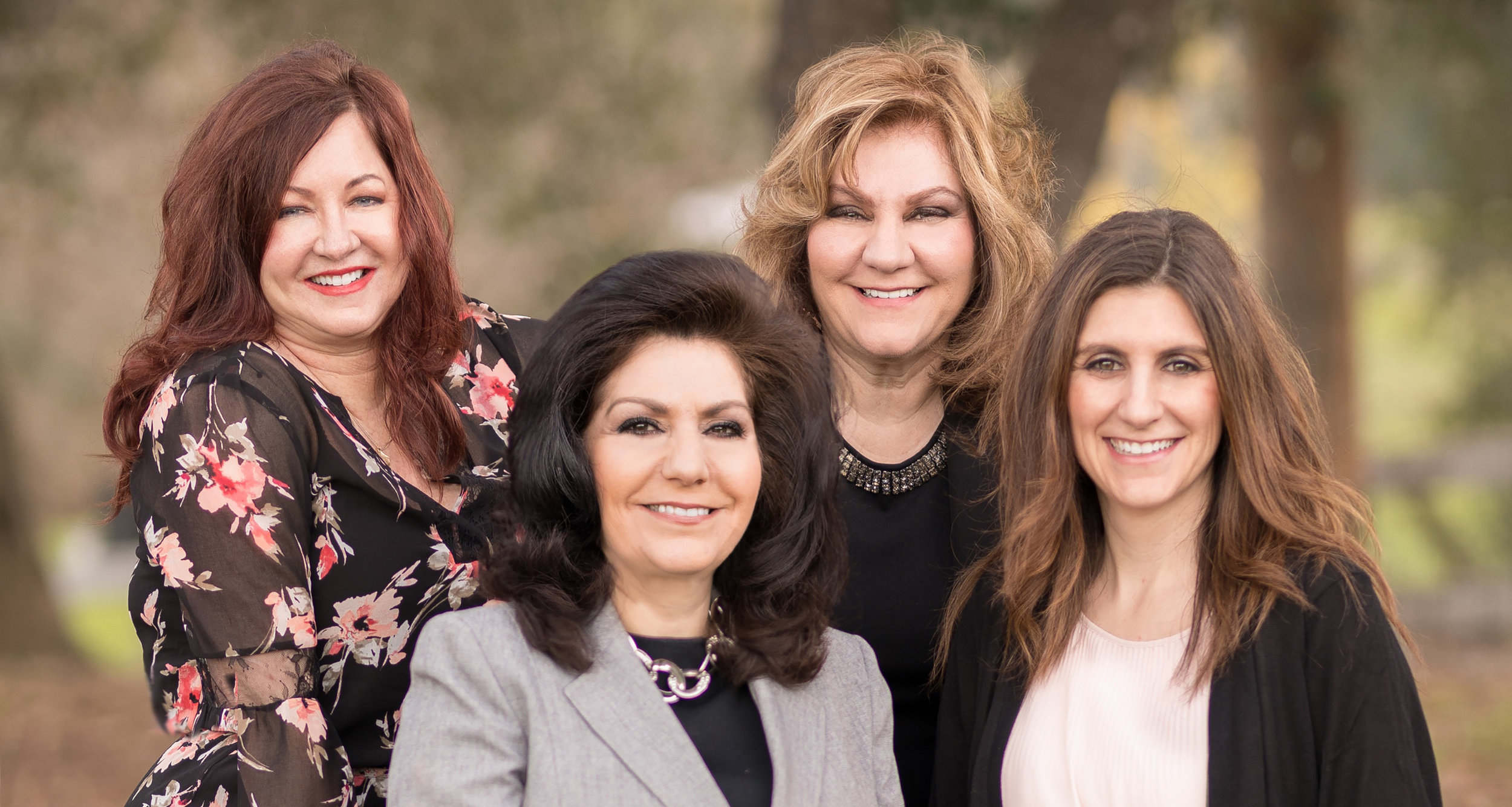 Meet Lira Clinical's owners & founders:     Metaxia Dalikas, Brenda Cumming, Anna Konstantin, Francine Kagarakis