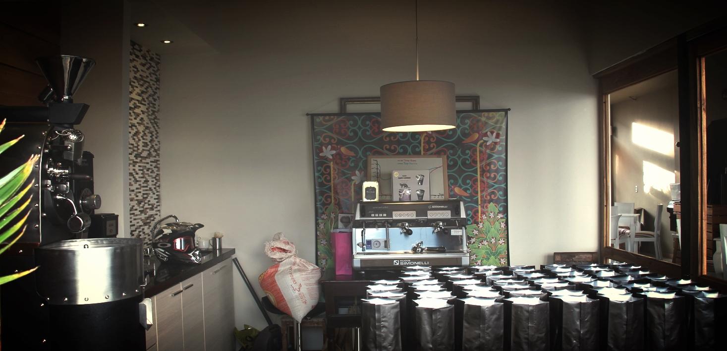 Don Danilo's coffee laboratory