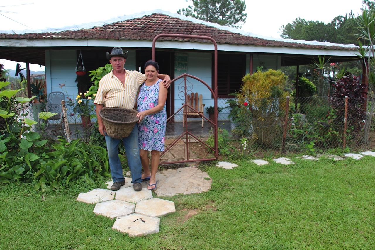 Omar Ramirez and his wife - Escambray