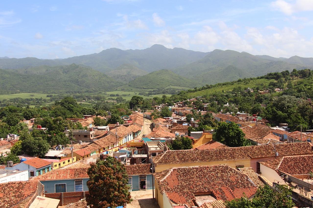 View of Escambray mountains - Trinidad