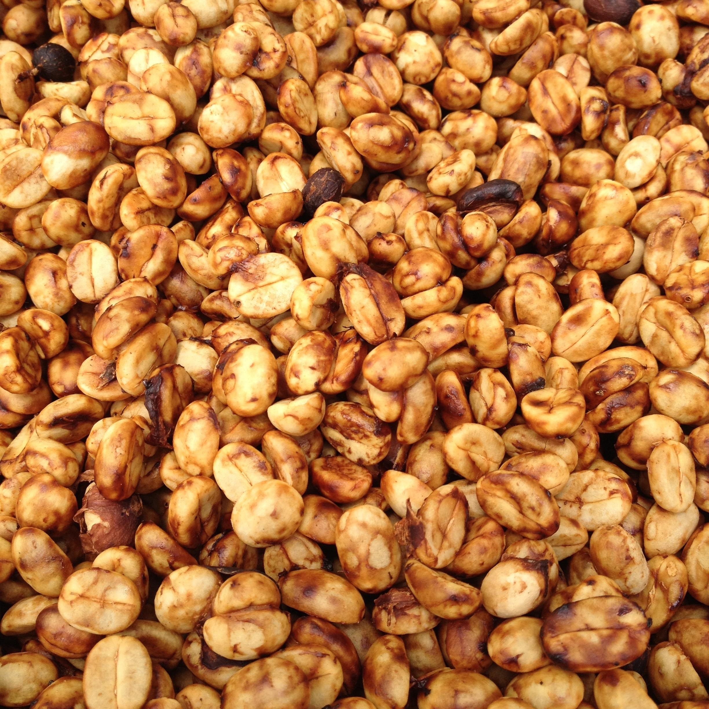 Honey coffee drying process