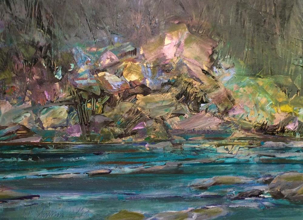 Rowe River Rocks