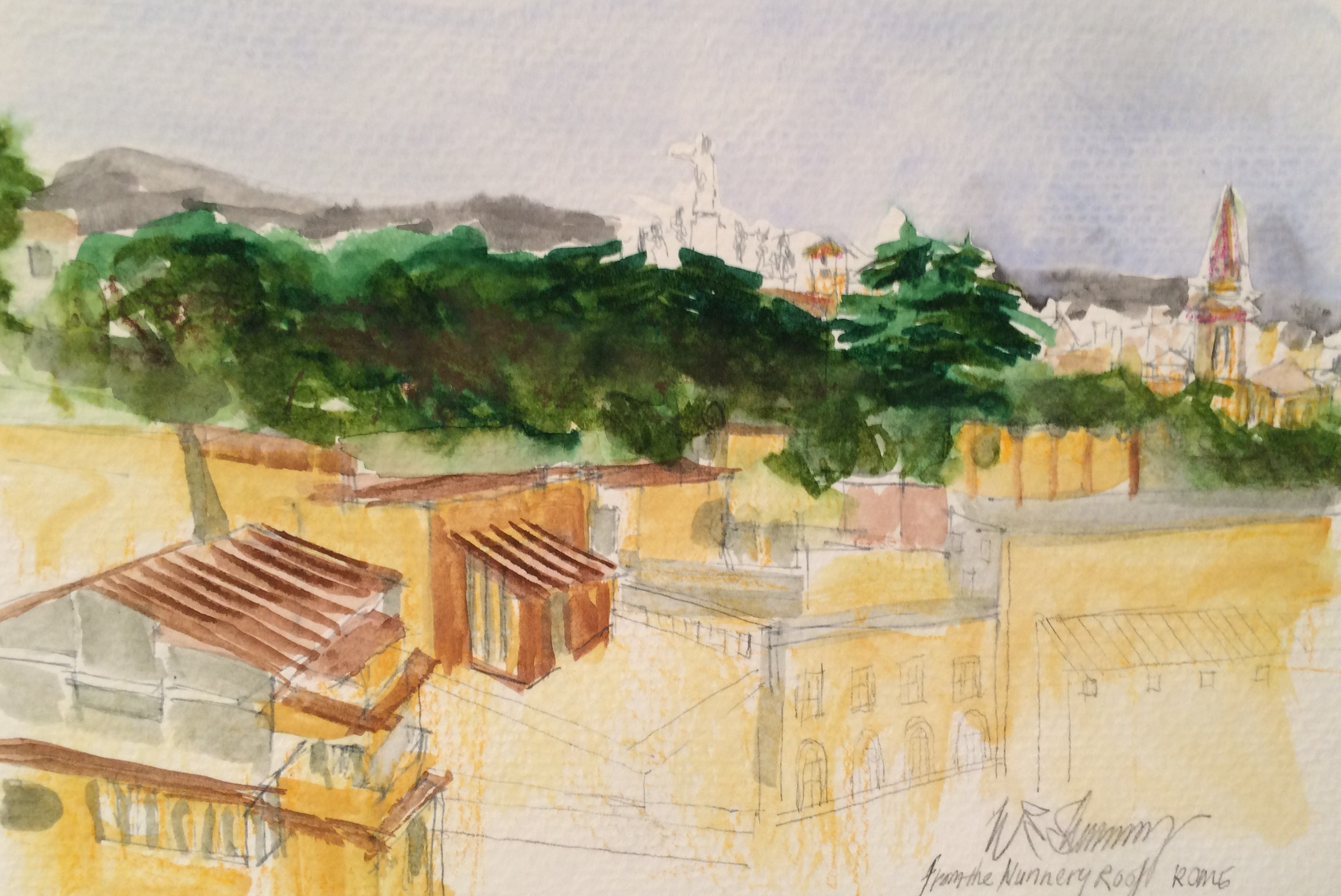 Rome from the Nunnery