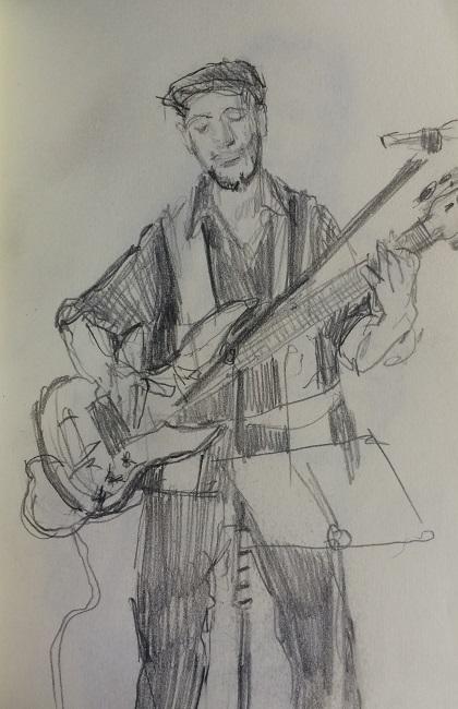 Jazz Quartet Bass Guitarist