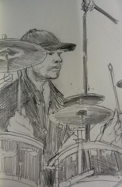 Jazz Quartet Drummer