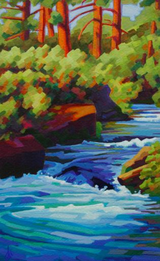 "Mark Allison ""Canyon Creek"""