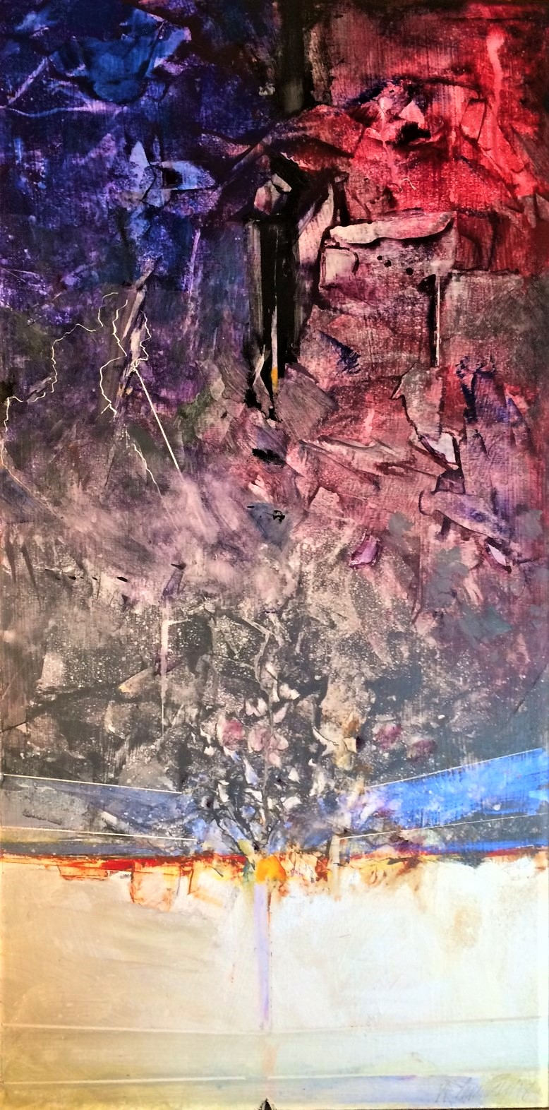 Burdens by W.E.Shumway ( from poem by Susan Shumway) acrylic 12 x 24'(h).JPG