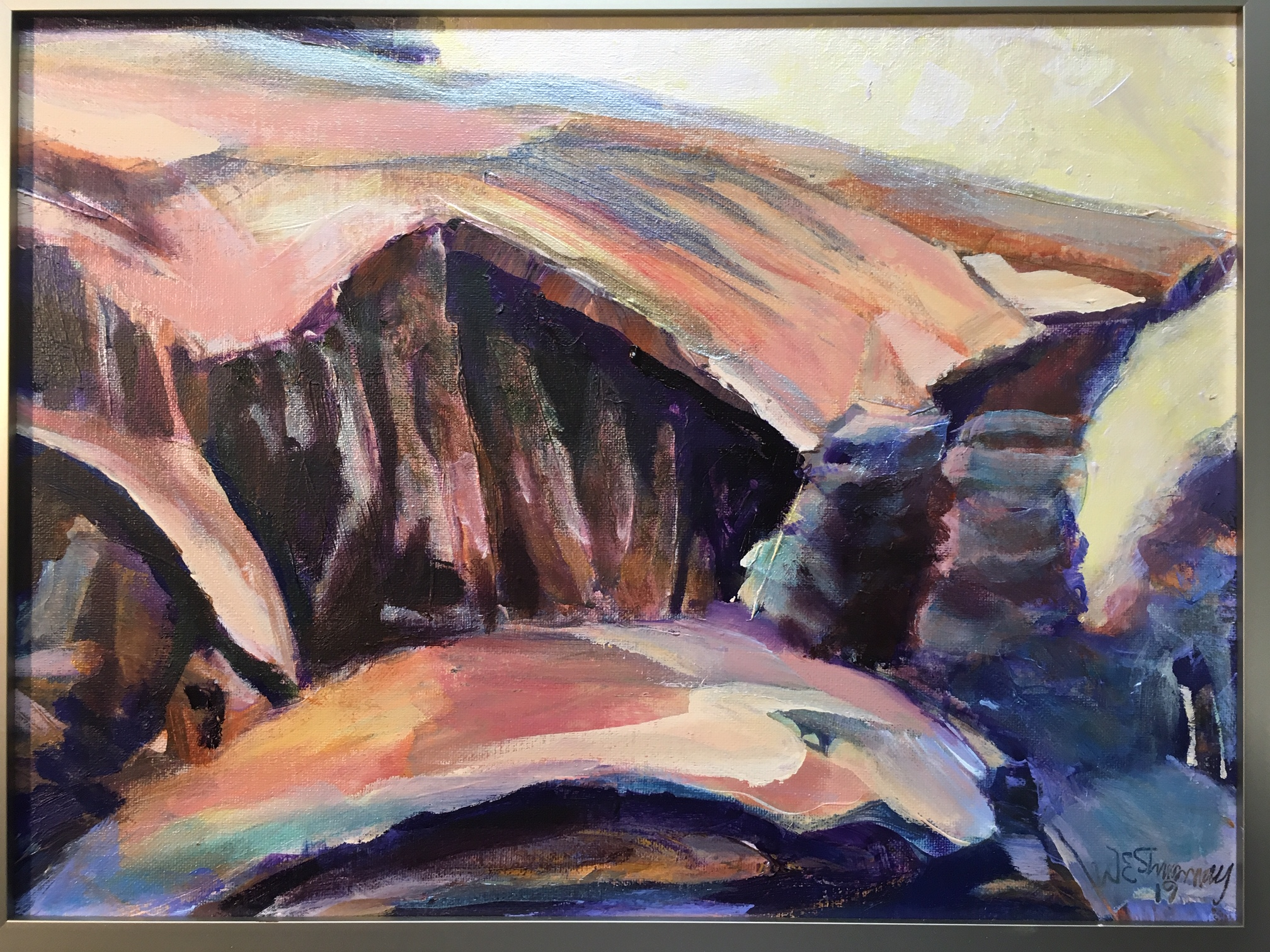 Desert Poem by W.E.Shumway acrylic 11 X 14 inches.JPG