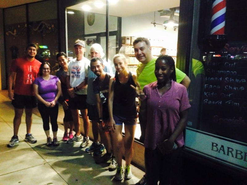 Such a great turnout for the first night! Photo Courtesy of GRVL Runner of Long Beach