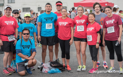 Pre-race Photo with the GRVL Runners