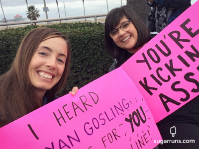 Liz made the BEST signs!