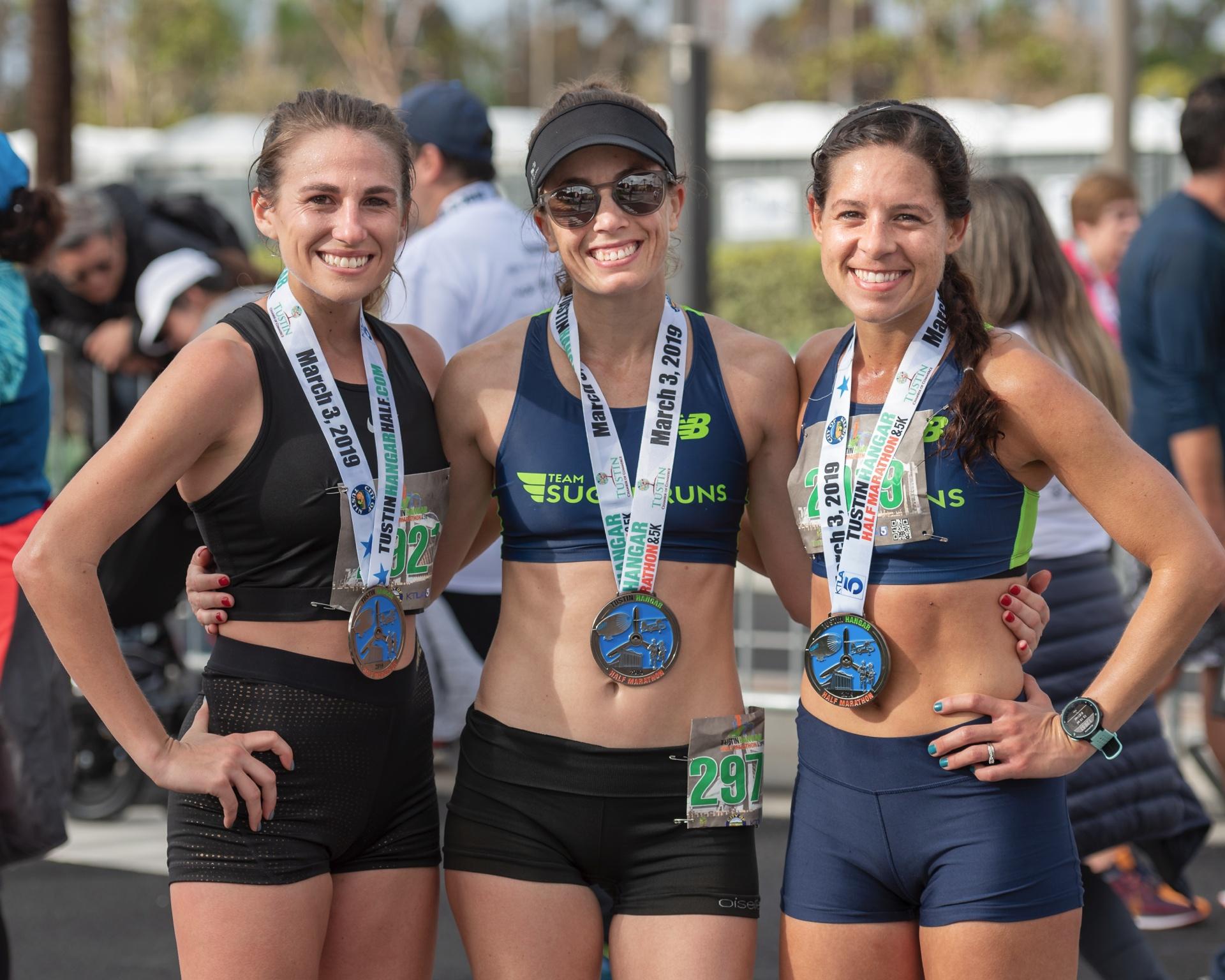 Team Sugar Runs @ Tustin Half Marathon 2019