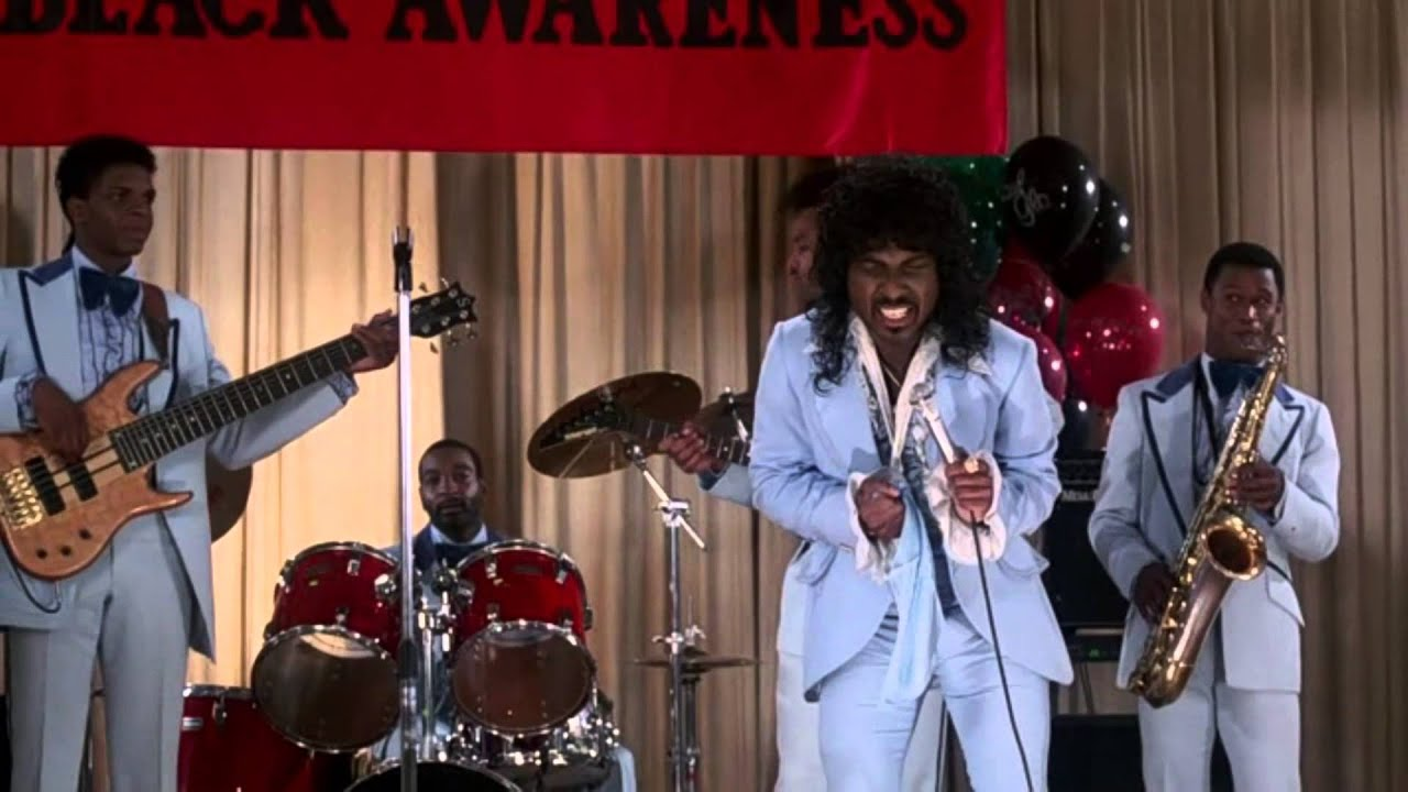 Mr Randy Watson believes the children are our future!