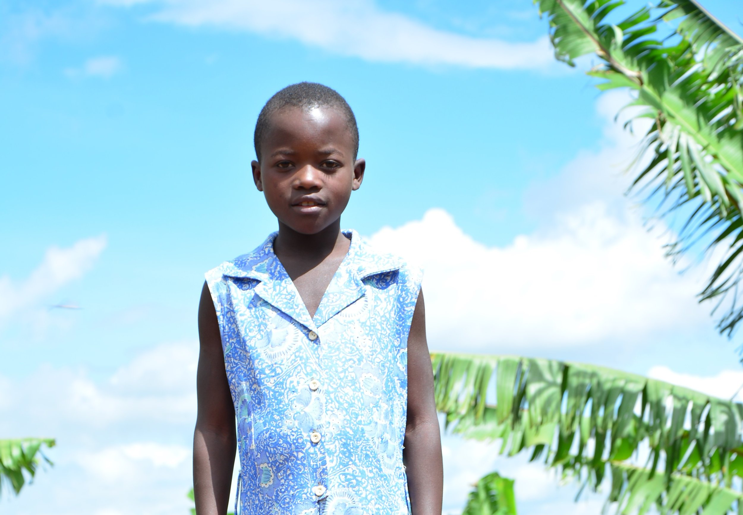 Clementine Uwineza, a young girl of 11 who dreams of becoming a teacher