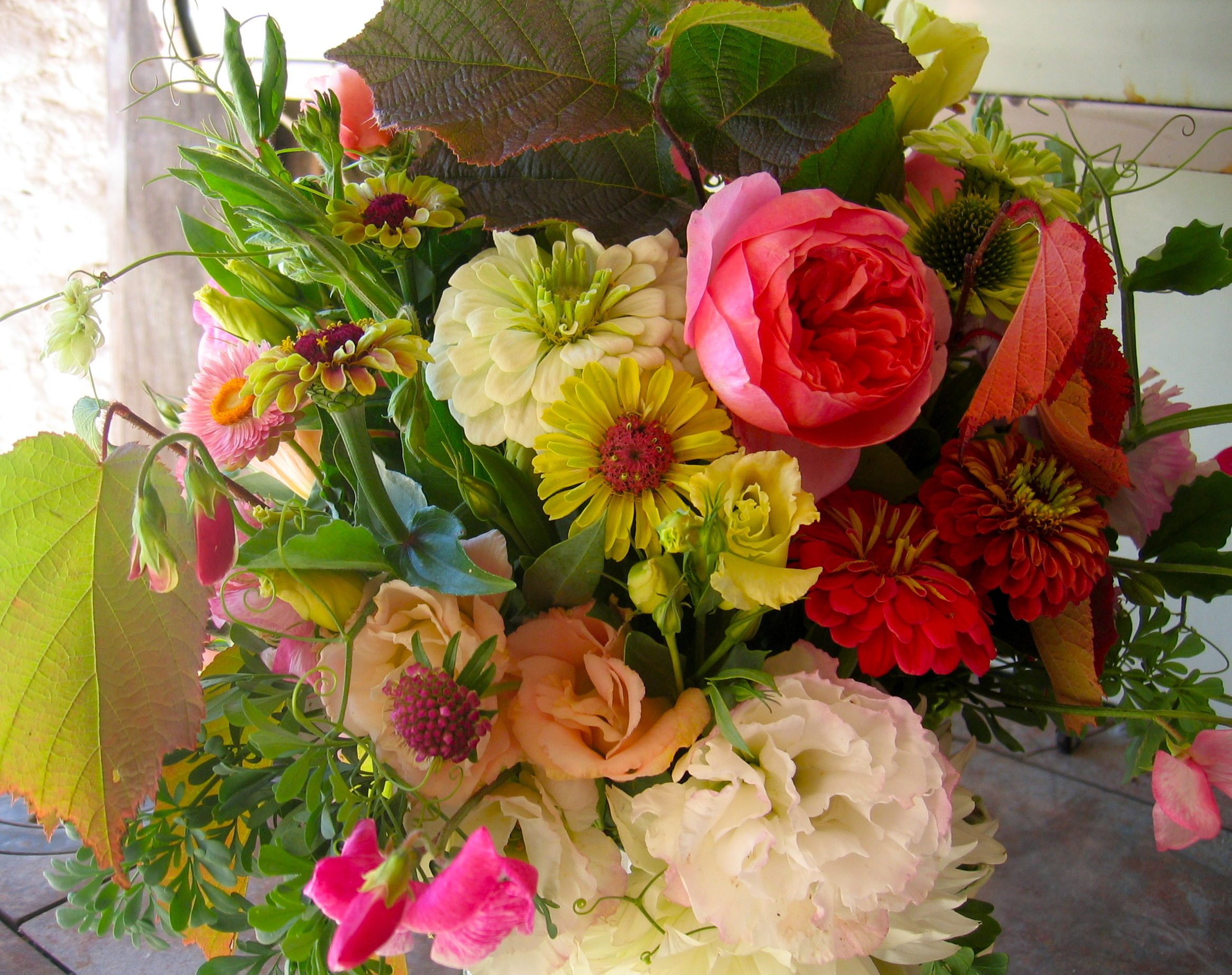 September Floral Arrangement